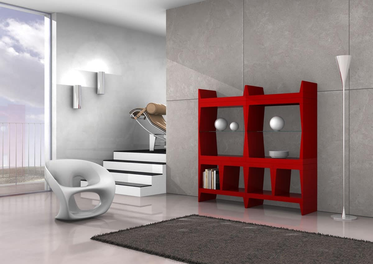 Lock, Library partition in various sizes and finishes