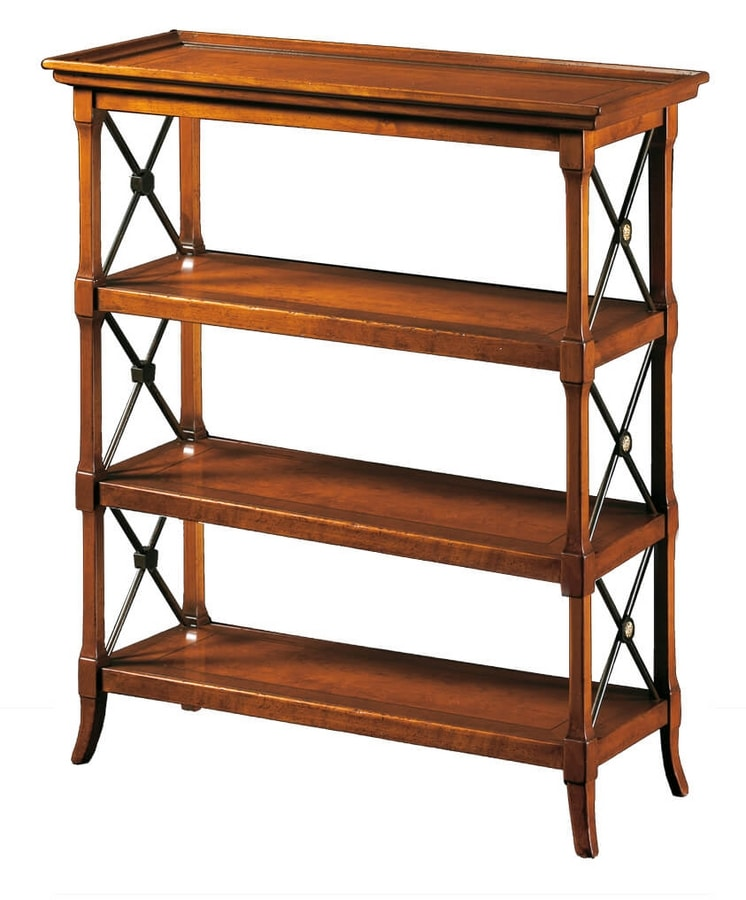 Ludovica FA.0090, TV stand with four shelves