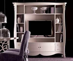 Melissa Art. 765, Bookcase with refined carvings