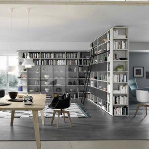Modo M5C88, Corner bookcase