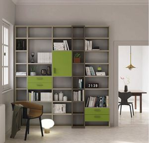 Modular � Mood 3, Modular bookcase with drawers
