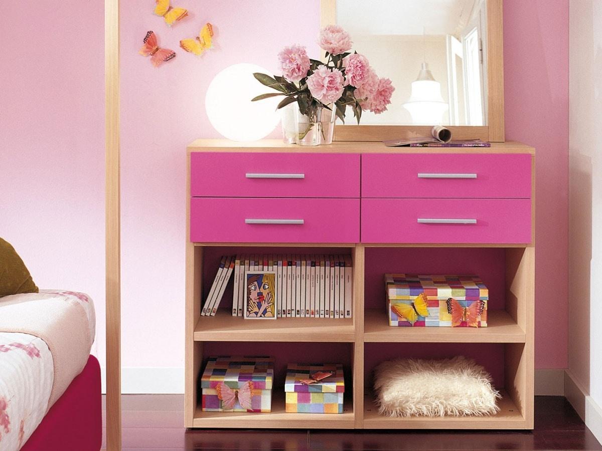 Modulari comp.04, Bookcase suitable for kid bedroom