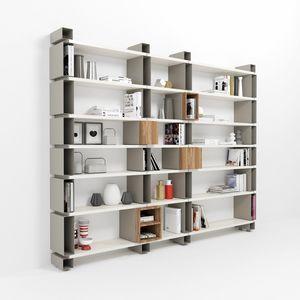 Modulo, Modular wall bookcase