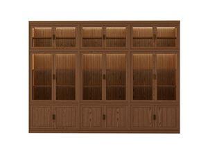 Novecento FS3314319, Modular bookcase in ash