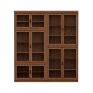 Novecento FS3314322, Modular wooden bookcase