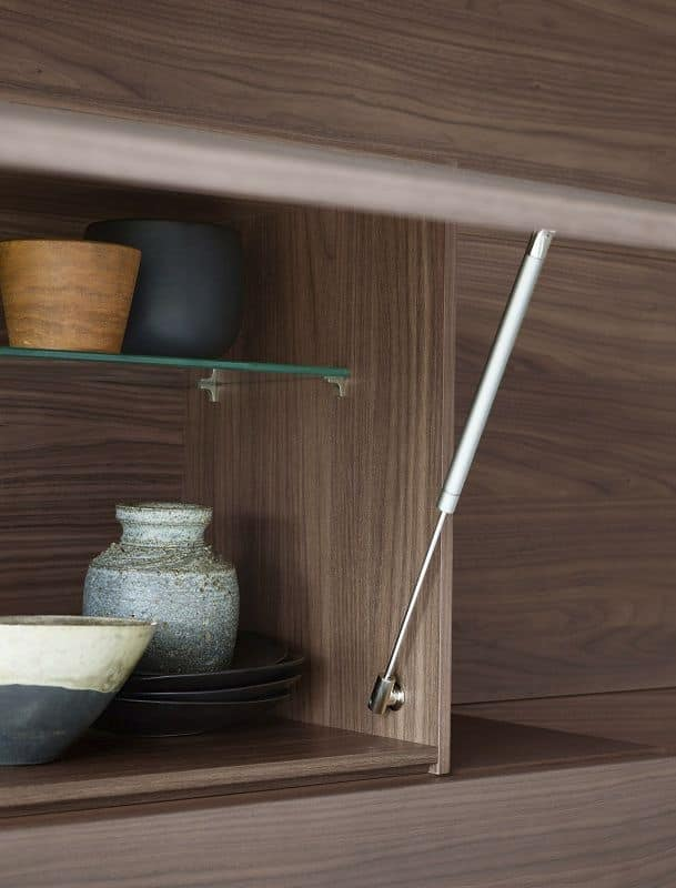 People P208, Modular bookcase with integrated lighting