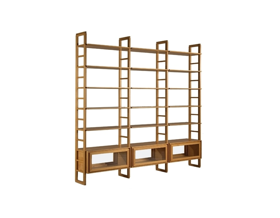 Scala 3413, Bookcase with glass doors