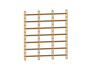 Scala FS3410174, Modular wooden bookcase