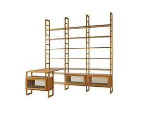 Scala FS3410176, Modular wooden bookcase