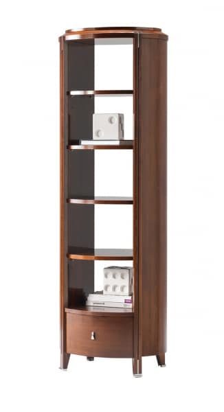 Vendome etagere, Wooden etagere with drawer