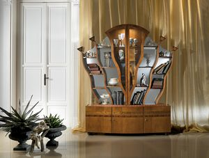 VL16 Albero, Display cabinet / Bookcase inlaid with light