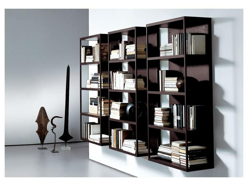 WALLBOX, Modern shelves, basic and functional structure