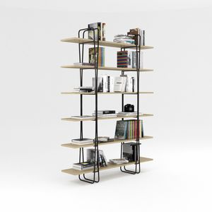 Ypsilon, Bookcase with iron structure