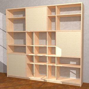 Yuki-M, Beech bookcase