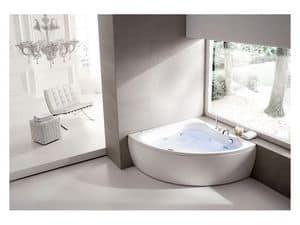 Diva, Elegant bath with digital controls, for relax area