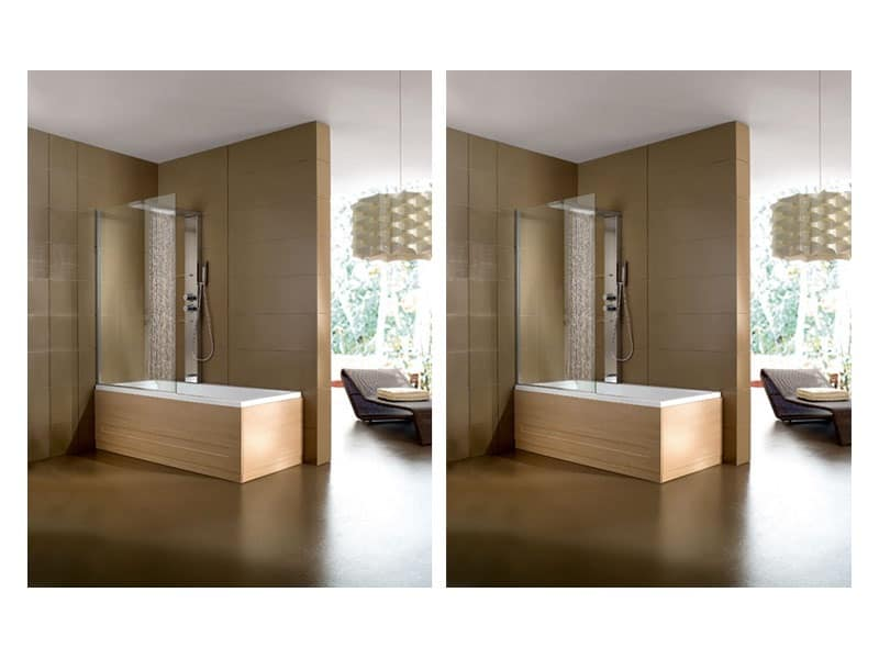 Modern bathtub, various finishes, for wellness area | IDFdesign