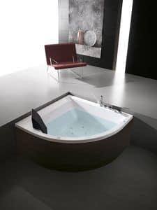 Era Plus 140x140, Corner Bathtub, various versions and options