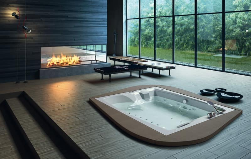 Modern Tub Various Finishes For Fitness Area Idfdesign