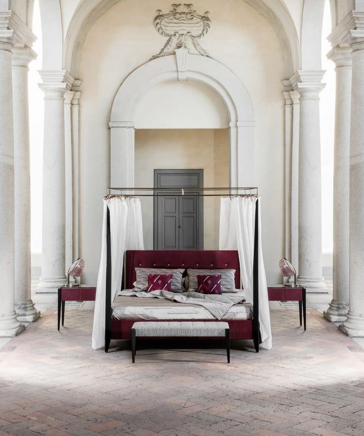 LEVANTE Bed, Luxury contemporary bed