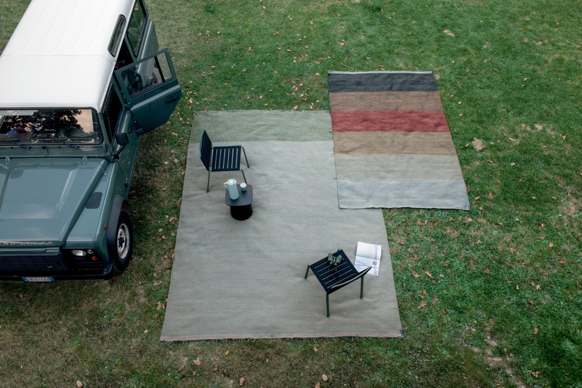 Mustache, Carpets made of polypropylene fiber, also suitable for outdoor use
