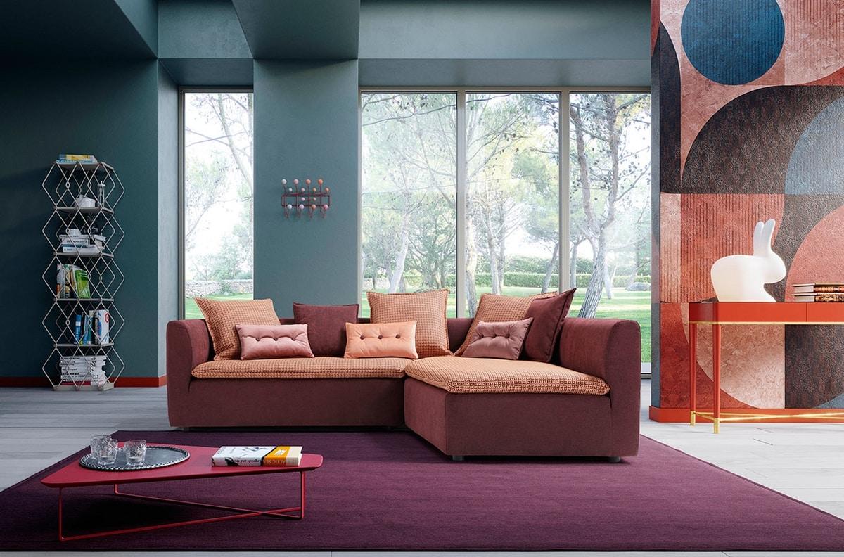 Purple, Carpet for living area