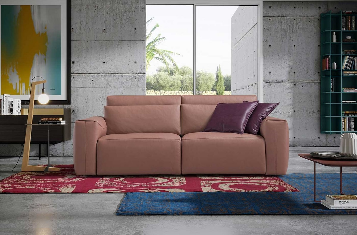 Red Macro, Rectangular decorative carpet