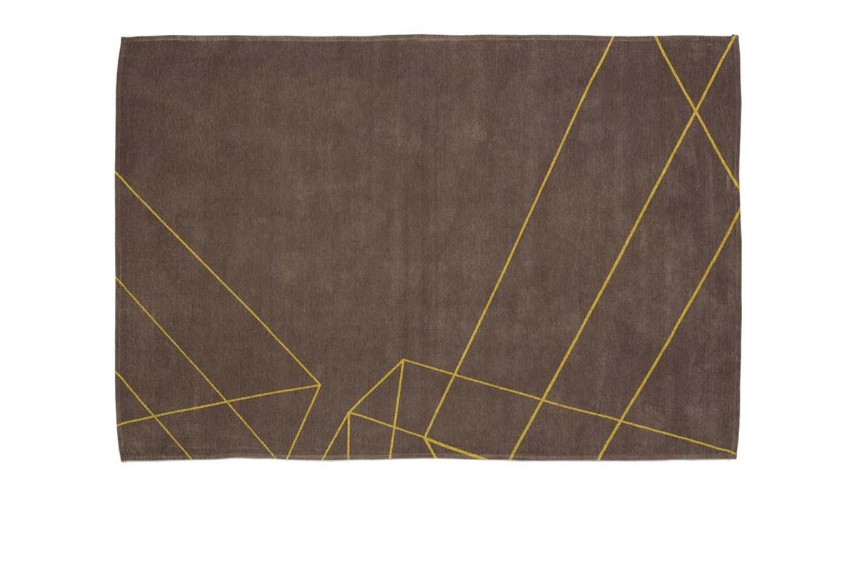 Yellow Geometric, Carpet with geometric design