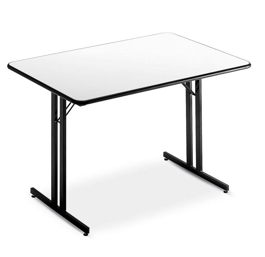 Conference Table Base Formed By Two Or Three Folding Legs IDFdesign - Portable conference table