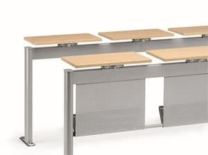 KOMPACT 880, Modular metal table, ideal for classrooms