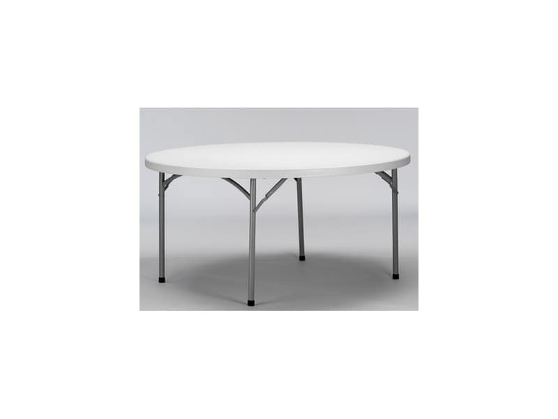 Resol.C - Krauss, Round folding table, polyethylene floor, for banquet