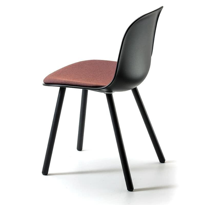 Máni 4WL, Chair in solid ash, available in various colors