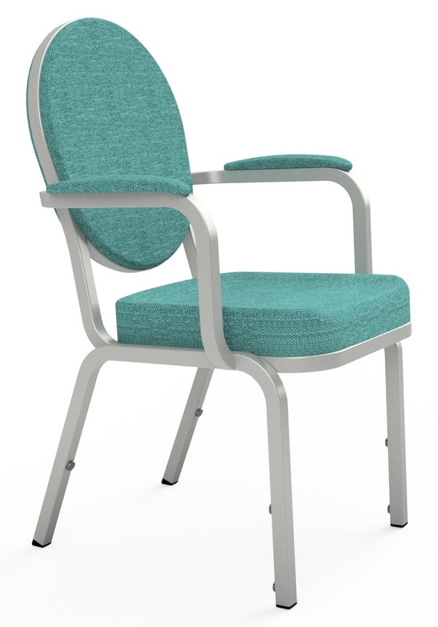 Adamas 66/4A, Chair with armrests, for conferences