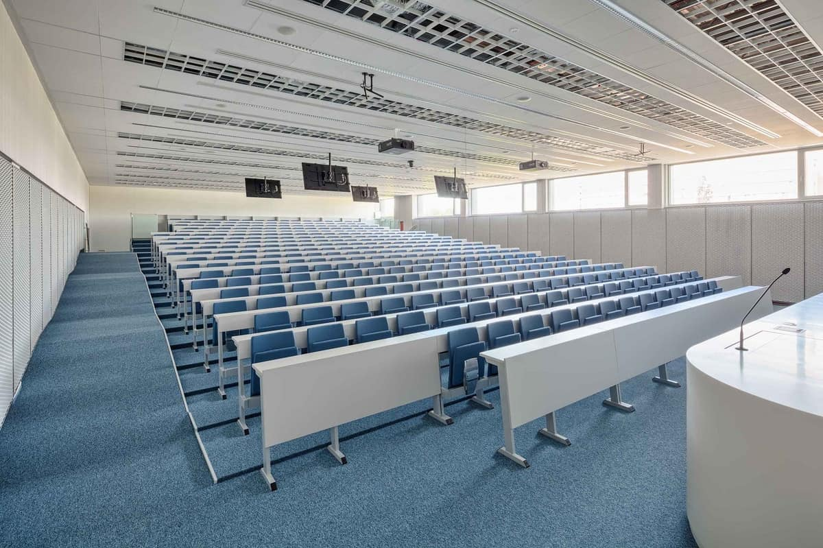 Ateneo 2.014, Seating system for universities, in modern style