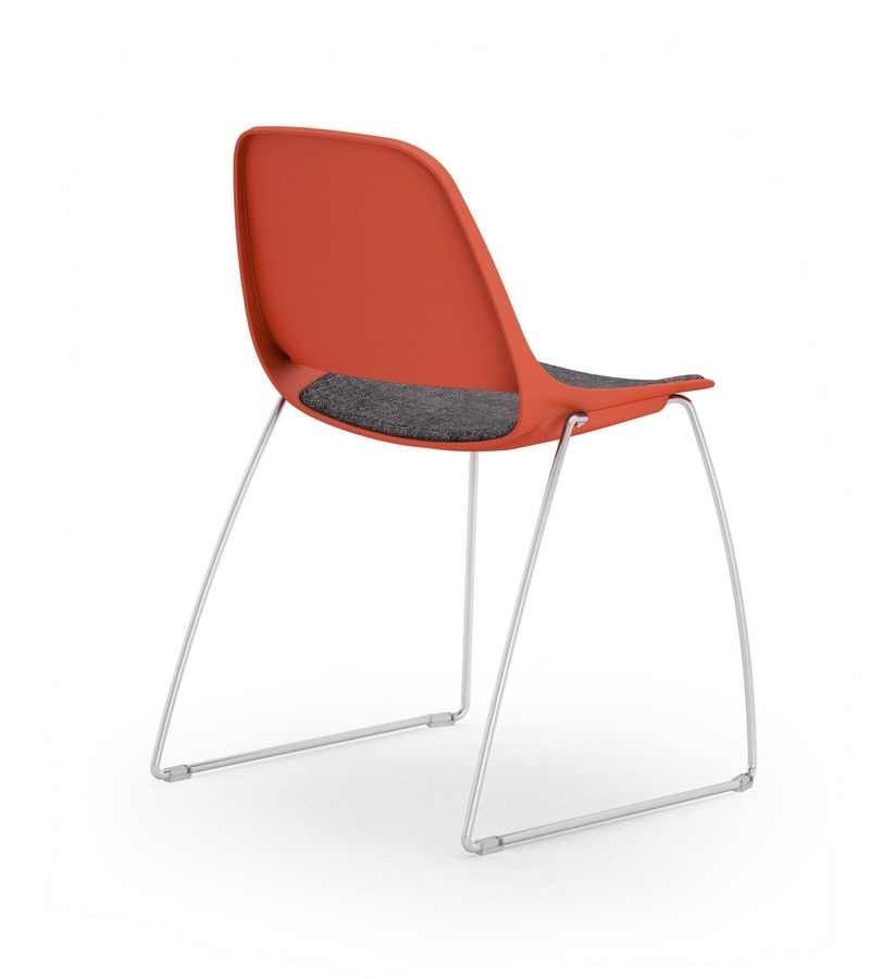 Cosmo sled, Chair with sled base