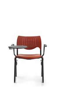Creta 443, Conference chair in PVC with tablet