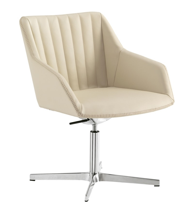 Dama Lounge, Waiting chair with wide seat