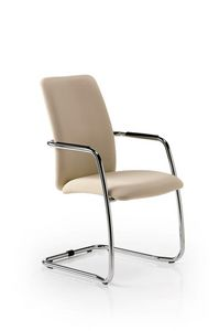 Eden 7400, Visitor chair with upholstered seat