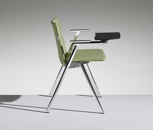 HL3 3, Chair with writing tablet for conference rooms