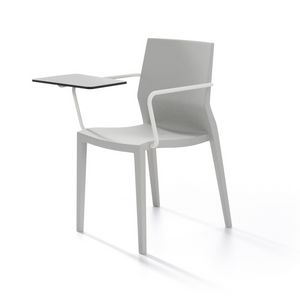 Hoth with armrests and writing tablet, Multifunctional chair, with armrests and writing tablet, for classrooms and conference rooms