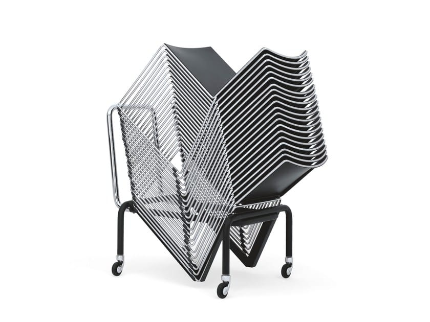 KUBICA, Stackable chair for collectivity