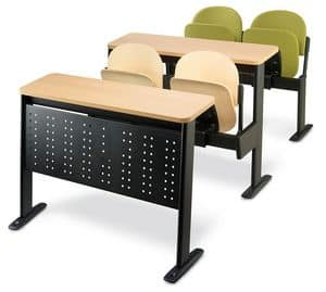 Oxford, Seating system for universities, folding seat
