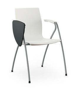 Q3, Chair with writing tablet