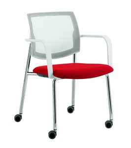 Q44, Multi-purpose chair with 4 legs with wheels