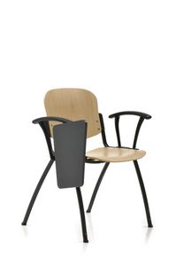 Seating 223, Attachable beech chair for conference rooms