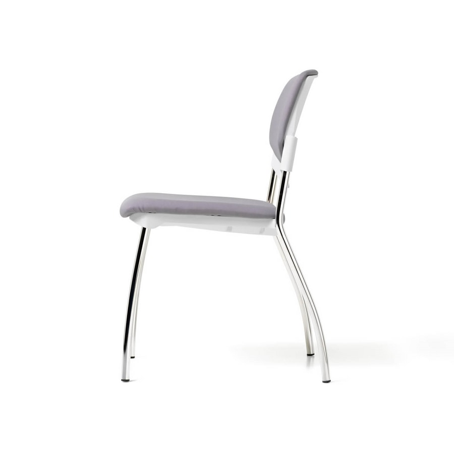 Sunny New padded, Padded chair equippable with writing tablet
