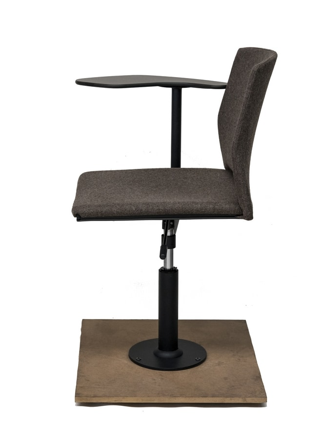 TREK 040/FTAB, Swivel seat with writing tablet