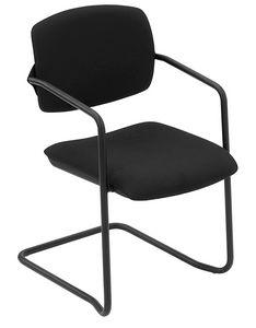 Universal cantilever, Chair with cantilever base, stuffed, for conferences
