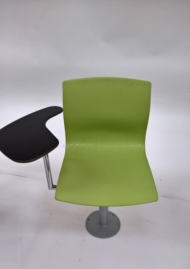 WEBBY 340/F with table, Swivel chair, adjustable in height, for classrooms