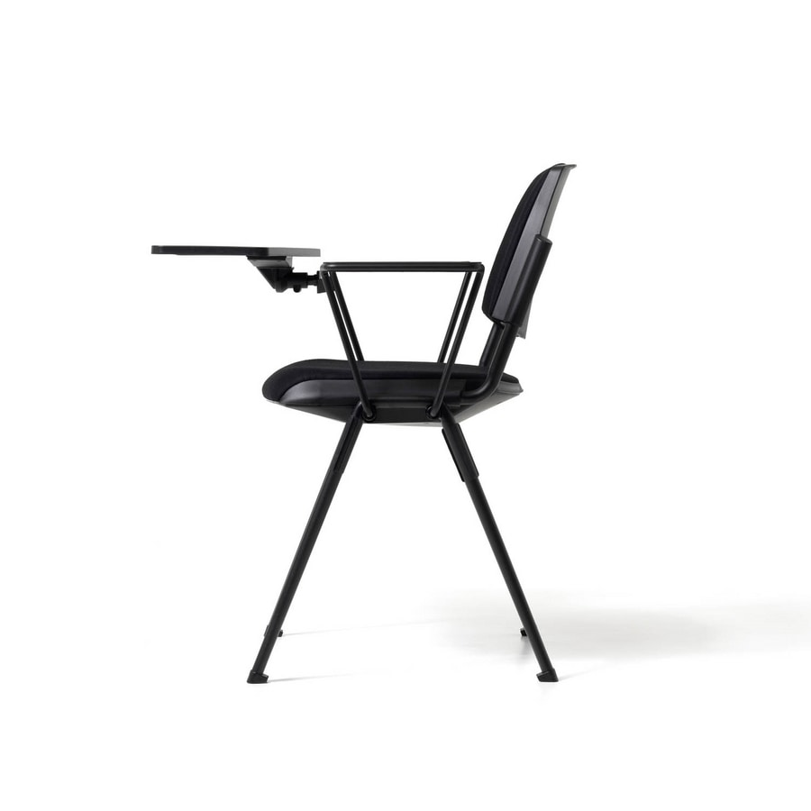 New Bonn writing tablet, Chair with writing tablet for auditorium