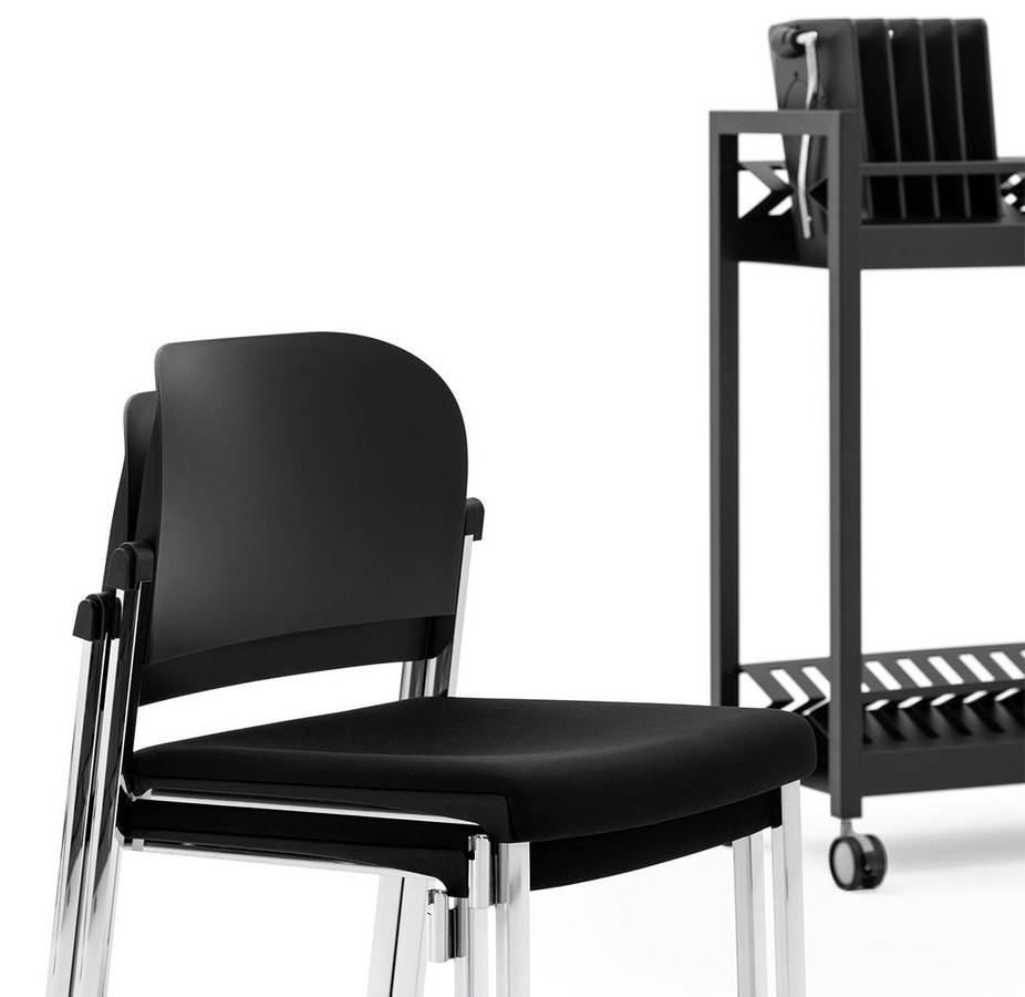 Convention - RIB, Chair with writing tablet